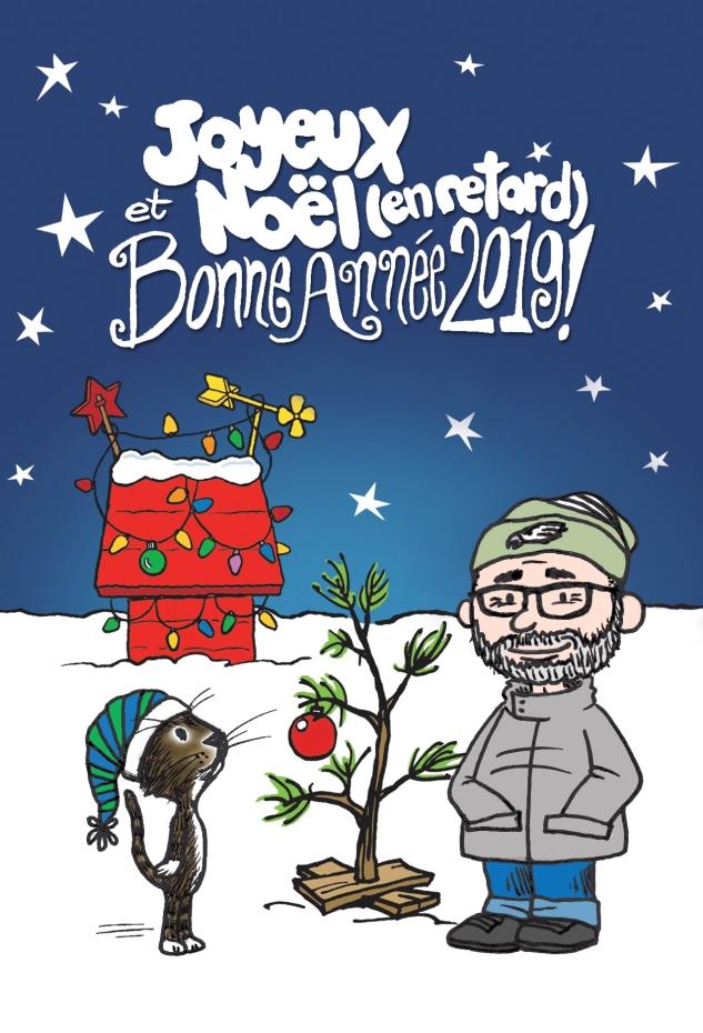 Carte postale de Noël 2018